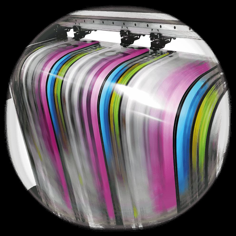Réalisation des tirages en imprimerie